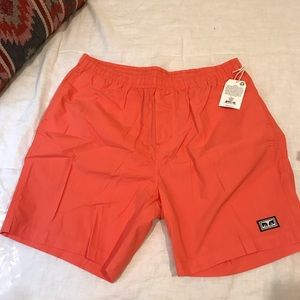 Men's Obey Easy Relaxed Short Size L